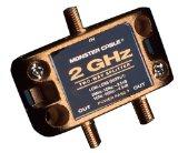 All Products : Monster Cable TGHZ-2RF Two Gigahertz Low-Loss RF Splitters For TV & Satellite 2-Way 2 Gigahertz RF Splitter