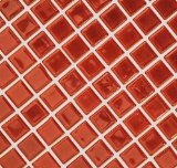 Search : Glass Mosaic Tile burgundy wine red for backsplash bar pool spa bathroom kitchen 1 sheet GS8015