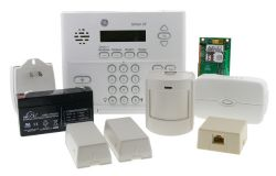 Wireless alarm system for Apartments