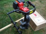 """Search : YardShape Heavy Duty 1 Man 50cc 2-Stroke Gas Power Auger - Post Hole Digger with 10"""" Earth Auger Bit"""